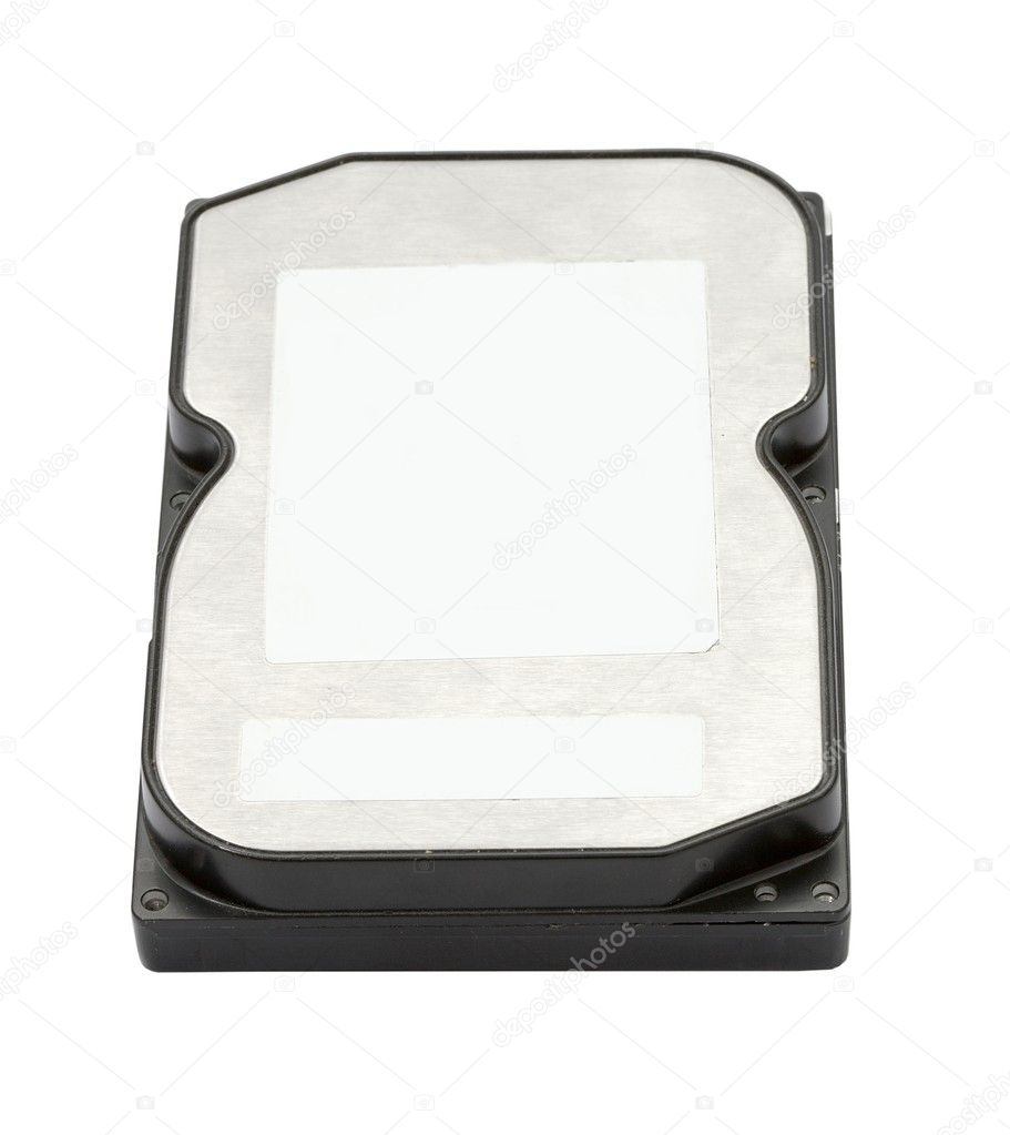 Harddisk drive isolated on a white background — Stock Photo #4636658
