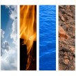The Four Elements — Stock Photo