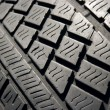 Tyre texture — Stock Photo