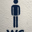 WC sign — Stock Photo #5263310