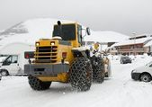 Snowplow — Stock Photo