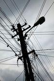 Elektrische draden — Stockfoto