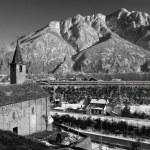 Alpine Church in winter — Stock Photo #4386995