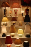 Beautiful desk lamps — Stock Photo