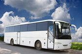 The white bus — Stock Photo