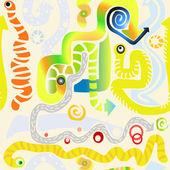Texturas abstractas inconsútiles — Foto de Stock