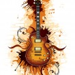 Royalty-Free Stock Imagem Vetorial: Electric Guitar