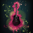 acoustic guitar — Stock Vector