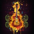 Electric Guitar - Stock Vector