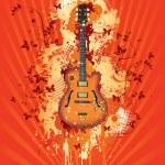 Electric Guitar — Stock Vector