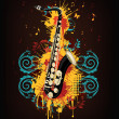 Saxophone — Stock Vector