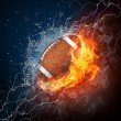 Football Ball - Stock Photo