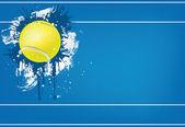Tennisball — Stockvektor