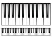 Piano klavier — Stockvector
