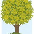 Green tree — Stock Vector #4127877