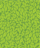 Green leaves background — ストックベクタ