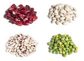 Beans and pea — Stock Photo