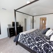 King Master Bedroom - Stockfoto