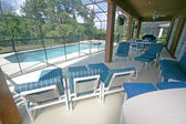 Lanai, Pool and Spa — Stock Photo