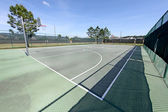 Basketball Court — Foto de Stock