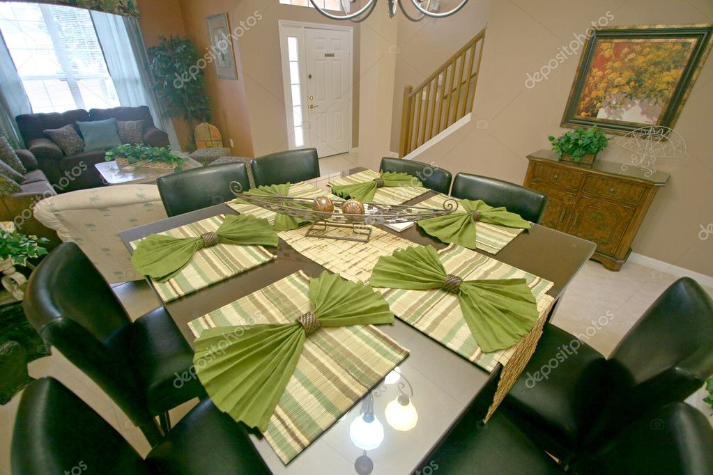 A Dining Room, Interior Shot of a Home — Stock Photo #4670044
