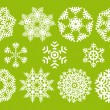 Vector snowflakes — Stock Vector #4016854