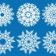 Vector snowflakes — Stock Vector #4051885