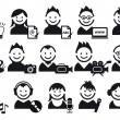 Creative , vector icons — Vector de stock #4249981