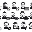Creative , vector icons — Stock Vector #4249981