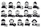 Criativo, icons vector — Vetorial Stock