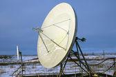 Satellite plate — Stock Photo
