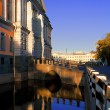 Stock Photo: View of Mikhailovsky Castle, Saint-Petersburg