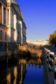 View of Mikhailovsky Castle, Saint-Petersburg — Stock Photo