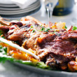 Roasted lamb shoulder — Stockfoto #4800335