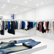 Modern store interior - Stock Photo