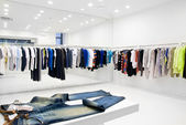 Modern store interior — Stock Photo