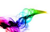 Resumen de colores con gradiente humo — Foto de Stock