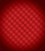 Red Xmas snowflake background — Stock Photo