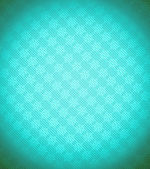 Turquoise - blue Xmas snowflake background — Stock Photo