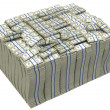 Royalty-Free Stock Photo: Much money. Huge pile of US dollars