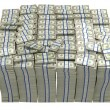 Treasury. Large bundle of US dollars — Foto de Stock