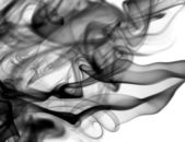Abstract fume patterns on white — Stock Photo