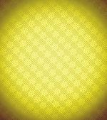 Yellow Xmas snowflake background — Stock Photo