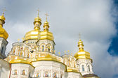 Golden Cupola of Orthodox church — Stock Photo