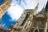 Notre Dame cathedral in Rouen — Stock Photo