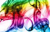 Magic colorful Abstract fume pattern — Stock Photo