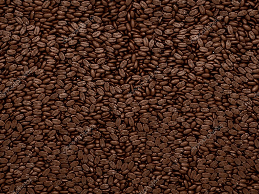 Coffee beans texture or background. Large resolution — Stock Photo #5187155
