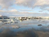 Jokulsarlon, glacier lagoon — Stock Photo