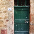 Old mediterranean door — Stock Photo