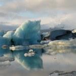 Ёкюльсаурлоун, ледниковой лагуны — Стоковое фото